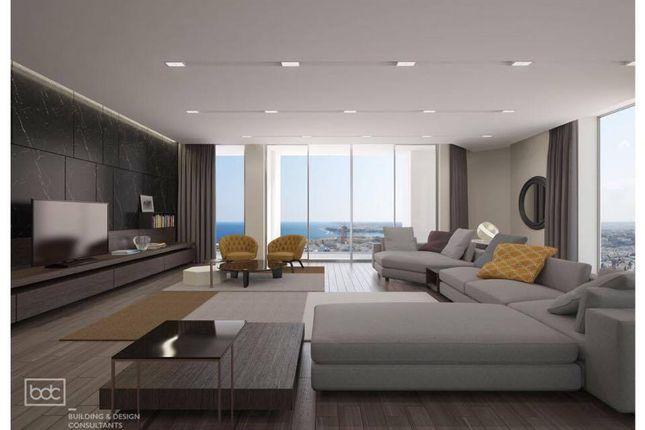 Thumbnail Apartment for sale in Floor 36 (Jubilee/Desiree/Fleur), Mercury Tower, St.Julian's, St Julians, Malta