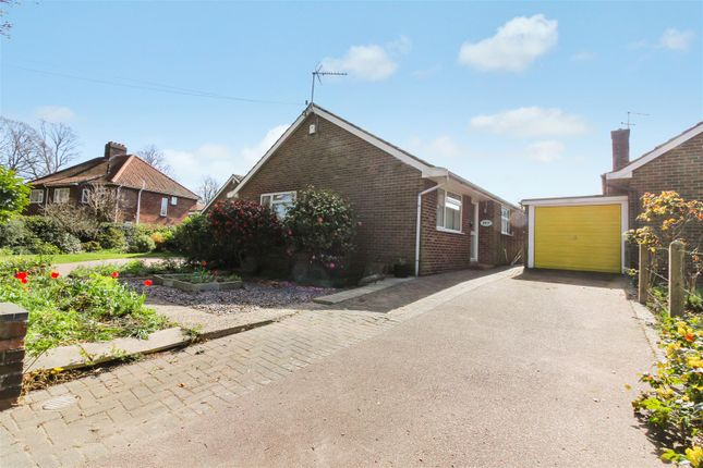 Thumbnail Detached bungalow for sale in Jessopp Road, Norwich