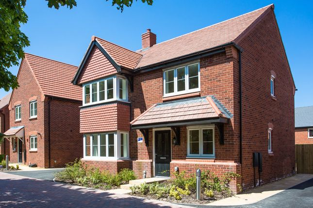 "Thumbnail Detached house for sale in ""The Canterbury"" at Ash Road, Cuddington, Northwich"