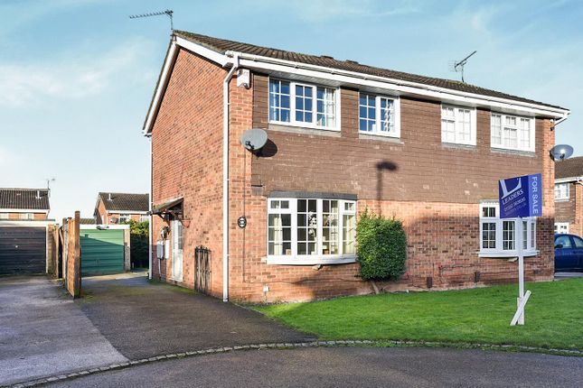 3 bed semi-detached house for sale in Deacon Close, Oakwood, Derby