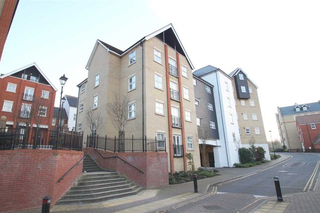 Thumbnail Flat for sale in Henry Laver Court, St. Mary's, Colchester