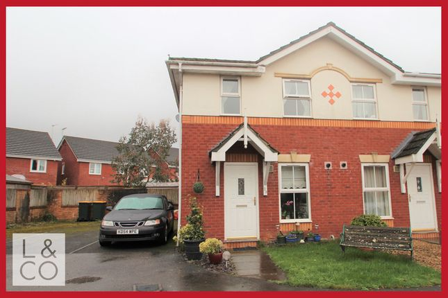Thumbnail End terrace house to rent in Laburnum Close, Afon-Y-Coed, Rogerstone, Newport