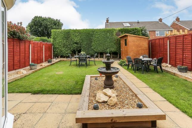 Garden of Woodlands Avenue, Water Orton, Birmingham, Warwickshire B46