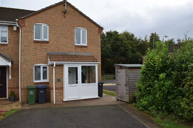 Thumbnail Terraced house for sale in Ascot Close, Chippenham, Wiltshire