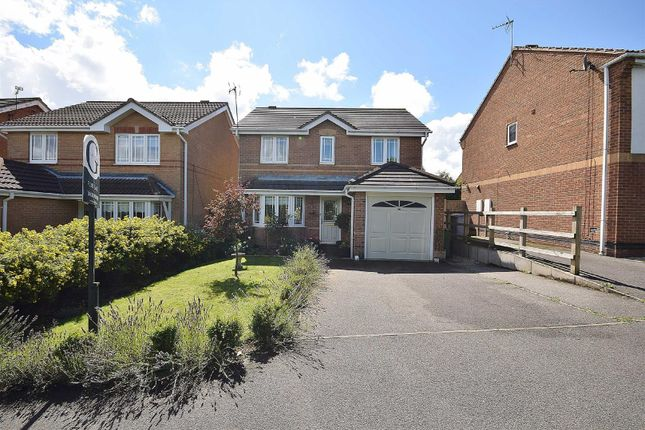 Thumbnail Detached house for sale in Amber Close, Rainworth, Mansfield