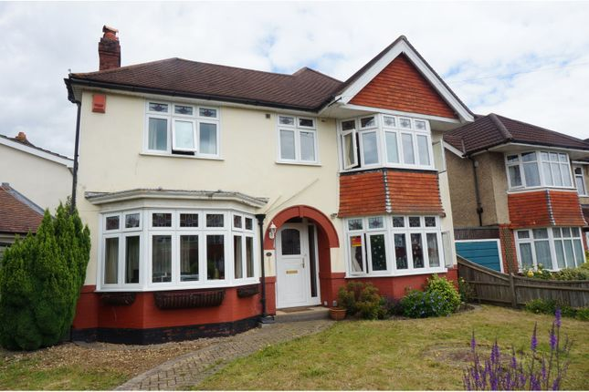 Thumbnail Detached house for sale in Shanklin Road, Upper Shirley, Southampton