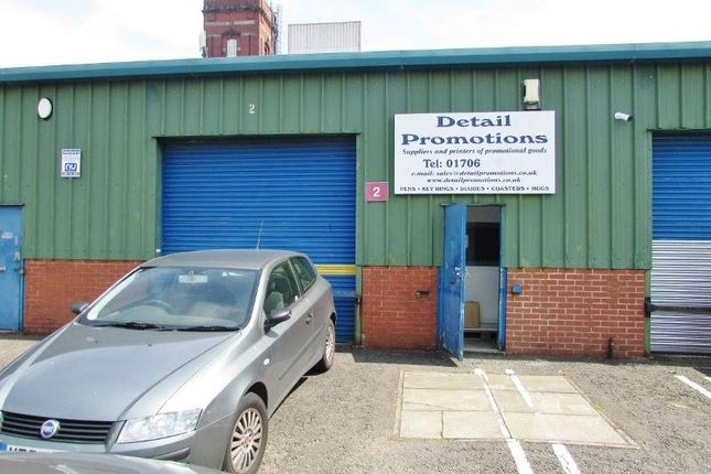 Retail premises for sale in Unit 2 Canalside Industrial Estate, Rochdale