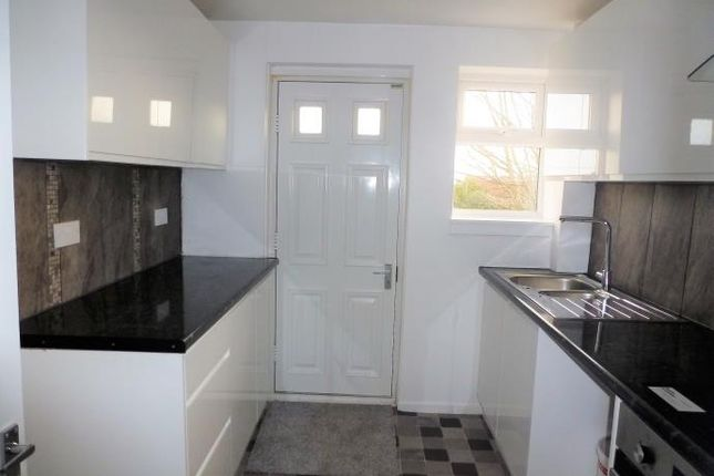Thumbnail End terrace house to rent in Davaar Road, Saltcoats