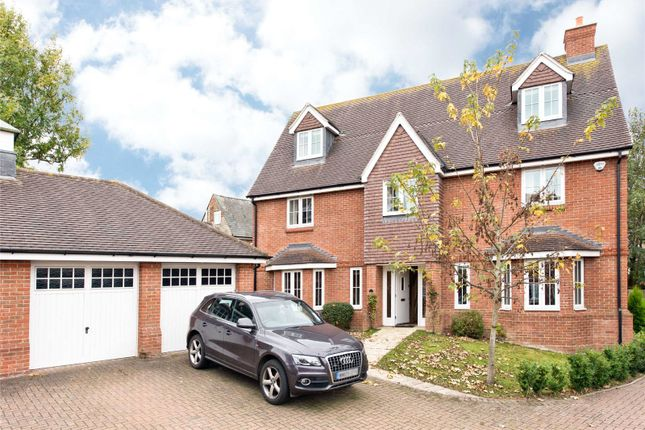 Thumbnail Detached house for sale in Gosling Close, Wanborough, Swindon