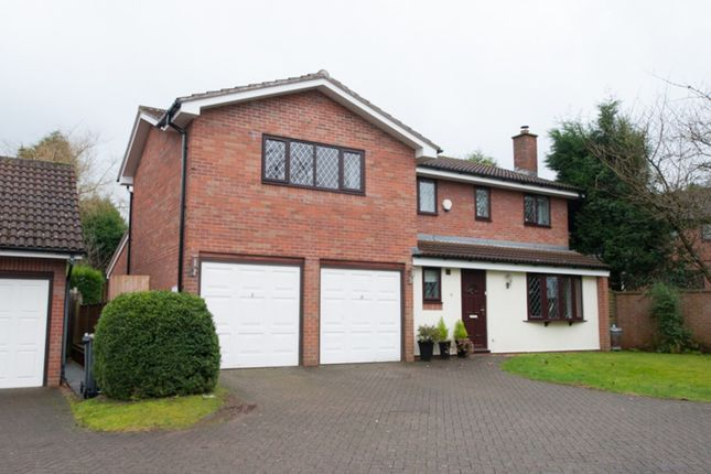 Thumbnail Detached house for sale in Shenstone Close, Sutton Coldfield