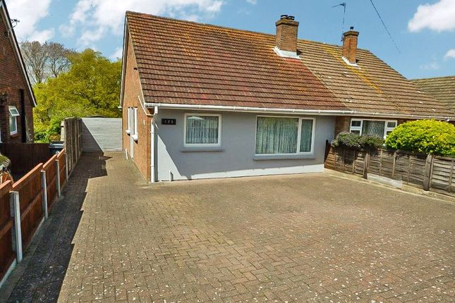 Thumbnail Semi-detached bungalow for sale in Slade Road, Holland-On-Sea, Clacton-On-Sea