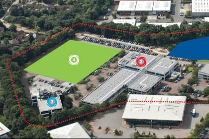 Thumbnail Industrial to let in Intec 4 & 5, Wade Road, Basingstoke