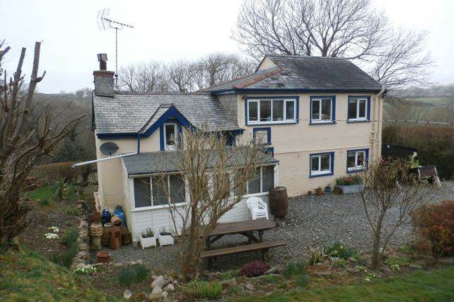 Thumbnail Detached house for sale in Pennant, Llanon