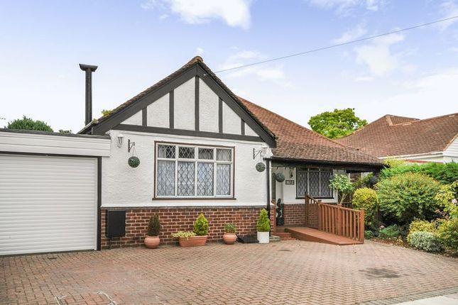 Thumbnail Detached bungalow for sale in Lyndhurst Avenue, Whitton, Twickenham