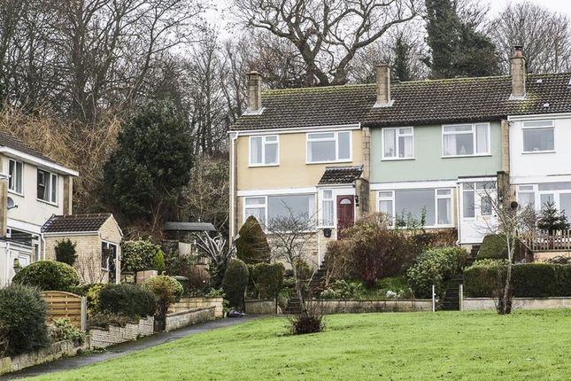 Thumbnail End terrace house for sale in Purlewent Drive, Weston, Bath