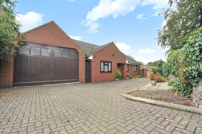 Thumbnail Detached bungalow for sale in The Green, Royston