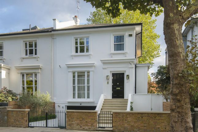 Thumbnail Semi-detached house for sale in Springfield Road, St John's Wood, London