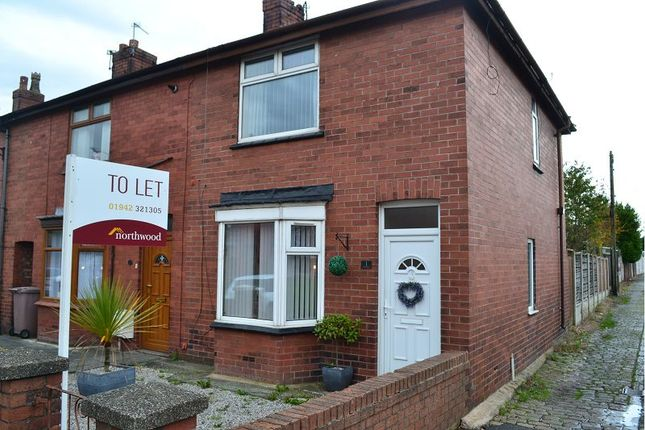 Thumbnail End terrace house to rent in Piele Road, Haydock
