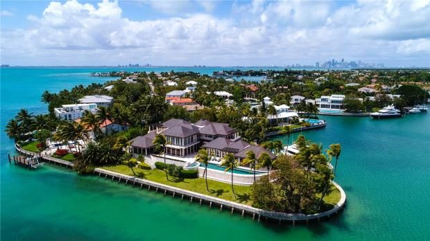 Thumbnail Property for sale in 400 South Mashta Drive, Key Biscayne, Florida