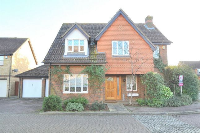Thumbnail Detached house for sale in Falcon Drive, Hartford, Huntingdon, Cambridgeshire