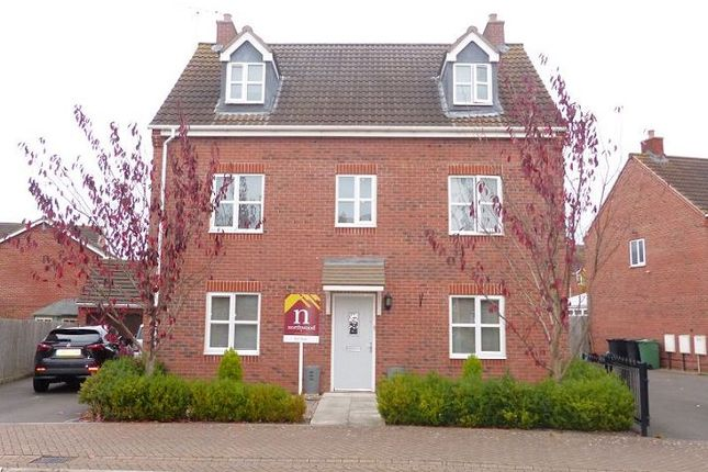 Thumbnail Detached house to rent in Milden Hall Way, Quedgeley, Gloucester