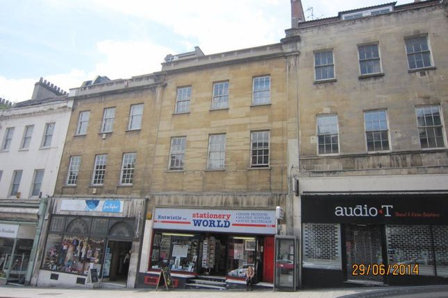 Thumbnail Flat to rent in Park Street, Bristol