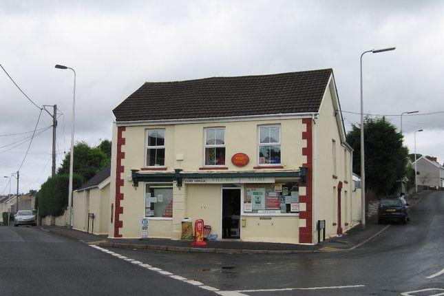 Thumbnail Retail premises for sale in 2 Carmarthen Road, Fforest, Carmarthenshire