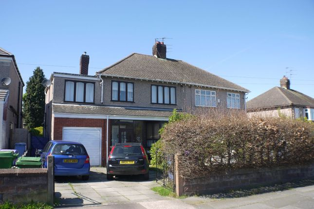 Thumbnail Semi-detached house to rent in Kings Drive, Woolton, Liverpool
