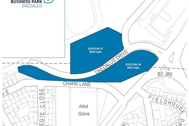 Thumbnail Commercial property for sale in Daedalus Gateway Park Plots, Daedalus Drive, Lee-On-Solent, Hampshire