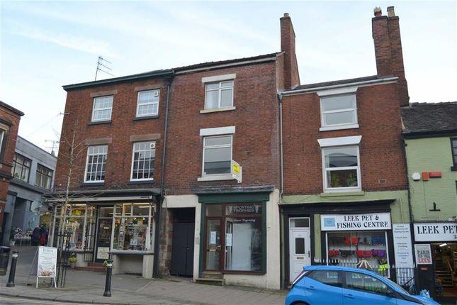 Thumbnail Retail premises for sale in St Edward Street, Leek, Staffordshire