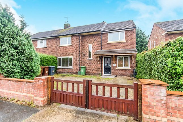 Thumbnail Semi-detached house for sale in Hemswell Avenue, Lincoln