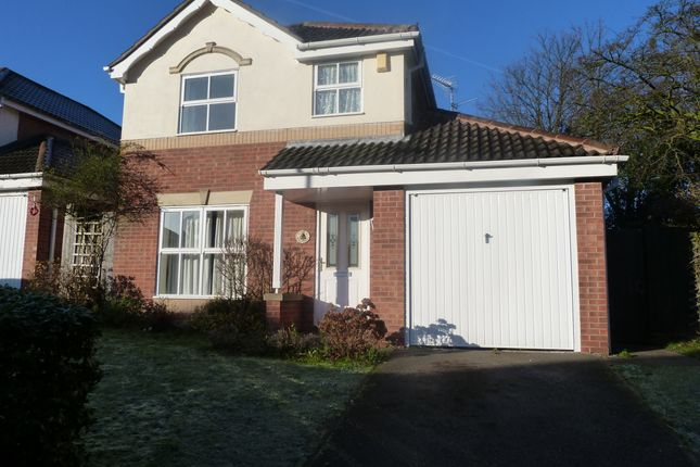 Thumbnail Detached house to rent in Racecourse Road, Mansfield