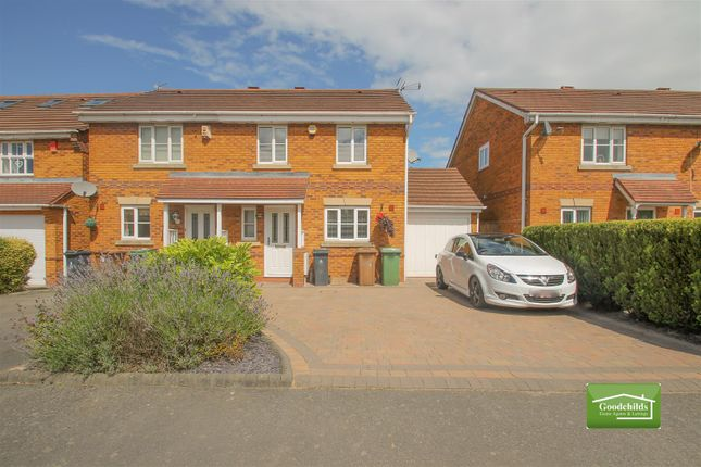 Thumbnail Semi-detached house for sale in Sandy Grove, Brownhills, Walsall