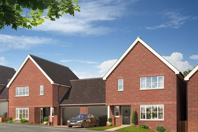 Thumbnail Link-detached house for sale in Skylark Close, Epsom