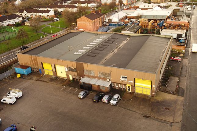 Thumbnail Industrial for sale in Russell Road, Birkenhead