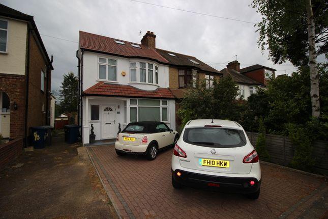Thumbnail Semi-detached house for sale in Stoneyfields Lane, Edgware
