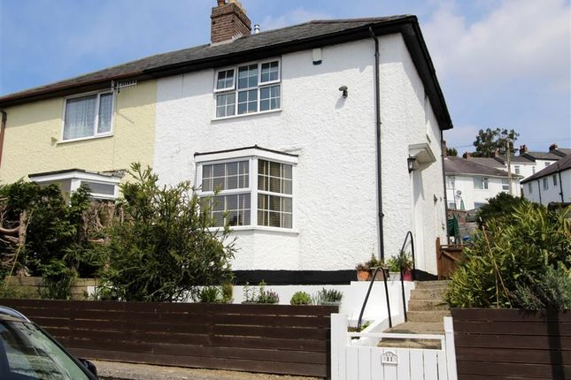 Thumbnail Semi-detached house for sale in Western Drive, Laira, Plymouth