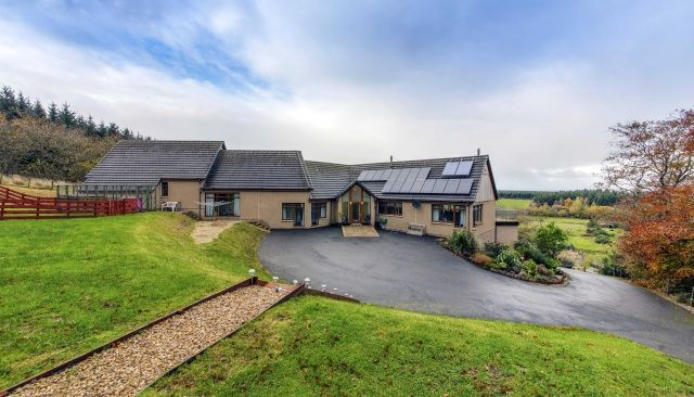 Thumbnail Detached house for sale in Connage, Buckie, Moray