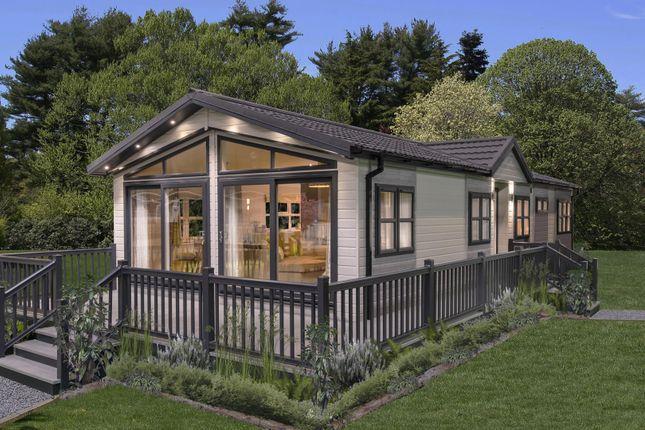 Thumbnail Lodge for sale in Pentewan Road, Mevagissey, Cornwall