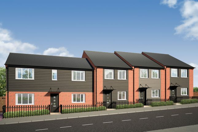 Thumbnail Semi-detached house for sale in Castle View, Brook Street East, Wellingborough