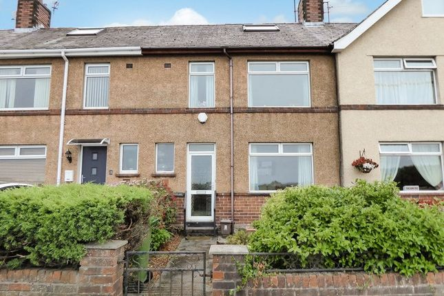 Thumbnail Terraced house for sale in Maes Isalaw, Bangor