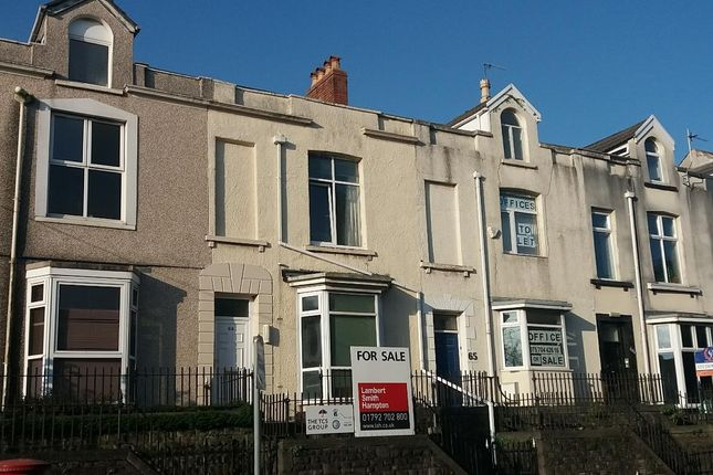 Thumbnail Office for sale in 64 Mansel Street, Swansea, West Glamorgan