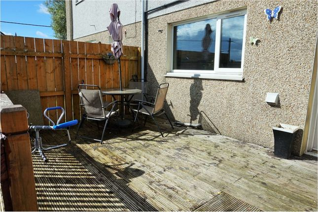 Decking of Hambleton Road, Bishop Auckland DL14