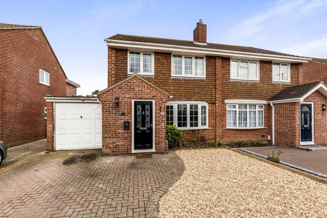 Thumbnail Semi-detached house for sale in Spithead Avenue, Gosport