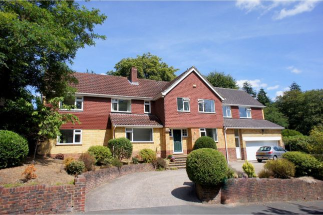 Thumbnail Detached house for sale in The Fairway, Camberley