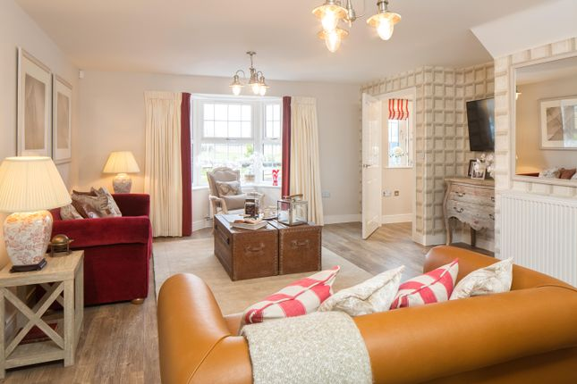 """Thumbnail Detached house for sale in """"Burford"""" at Nottingham Road, Barrow Upon Soar, Loughborough"""
