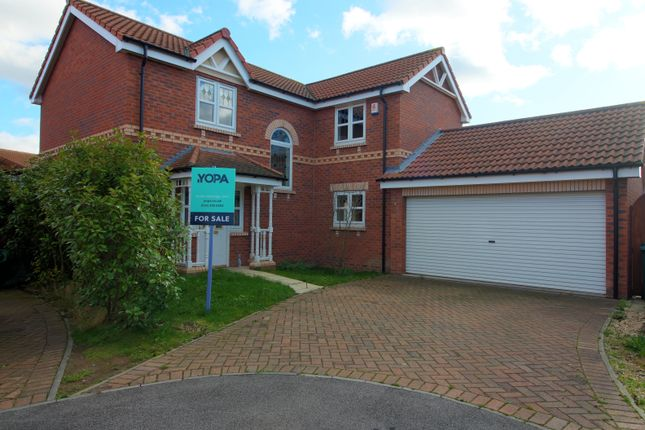 Thumbnail Detached house for sale in Barber Close, Armthorpe, Doncaster