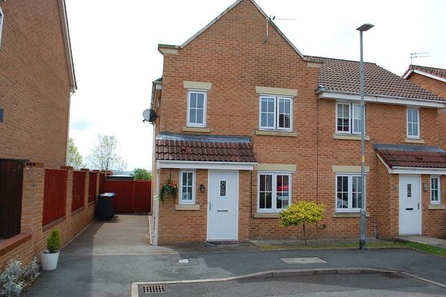 Thumbnail Semi-detached house for sale in Cravenwood, Ashton-Under-Lyne