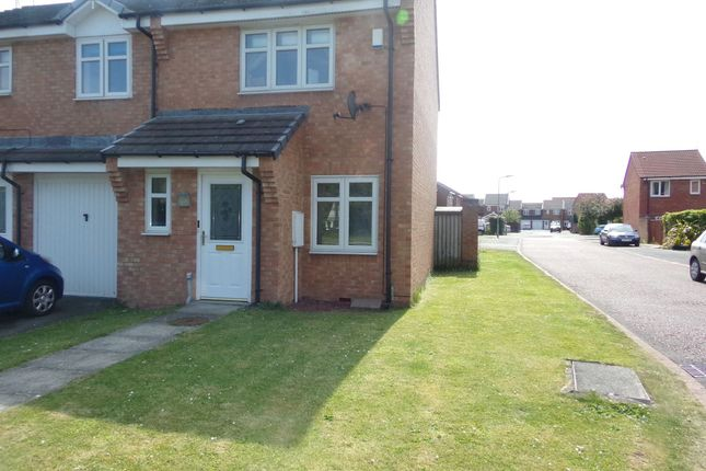 Thumbnail Semi-detached house to rent in Blackthorn Drive, Blyth
