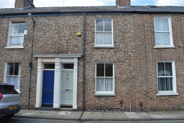 Thumbnail Terraced house to rent in Fairfax Street, Bishophill, York